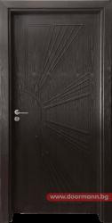 Интериорна врата Gama 204p - Венге