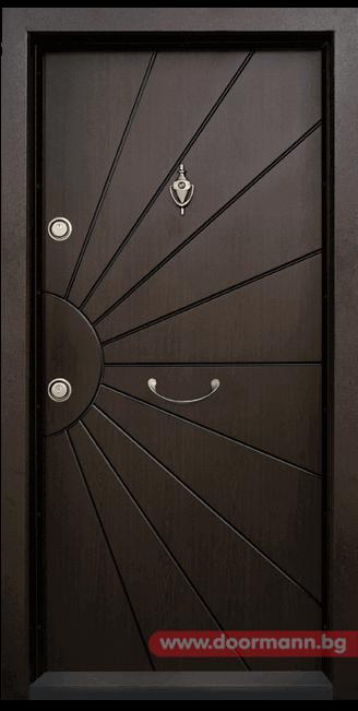 Блиндирана входна врата Т109